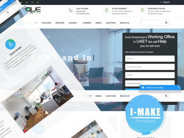 Unique World Website Launched to the skies of Al Karama, Dubai