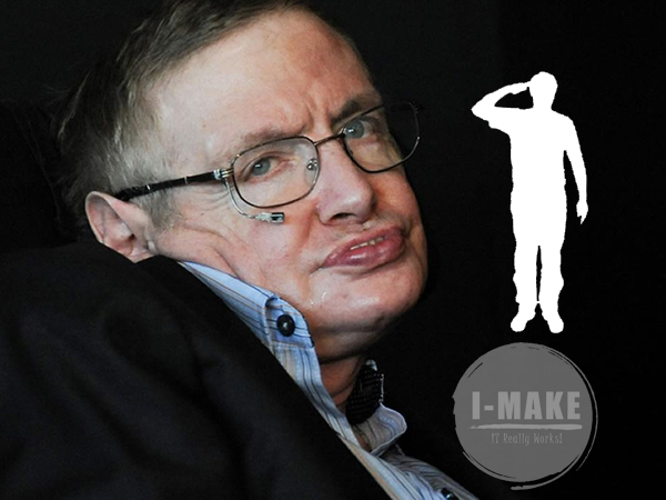 Stephen William Hawking The greatest inspiration passed away!