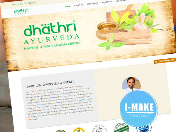Dhathri Hospitals Website Launched