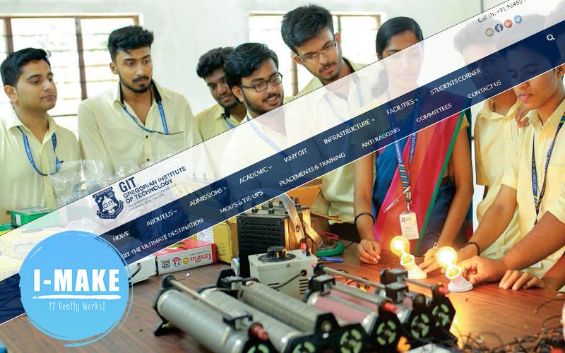 GIT institute Kottayam's Wesite launched
